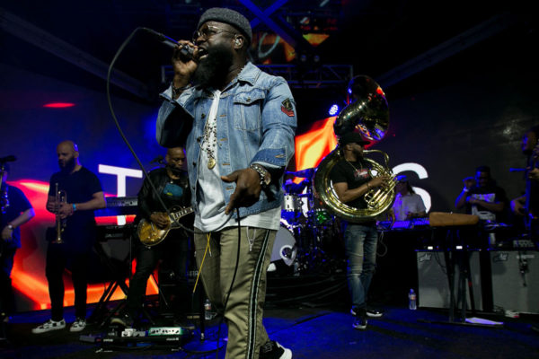 the roots performing at the heineken experience at coachella