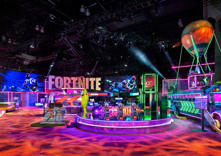 fortnite e3 experiential marketing trade show fgpg