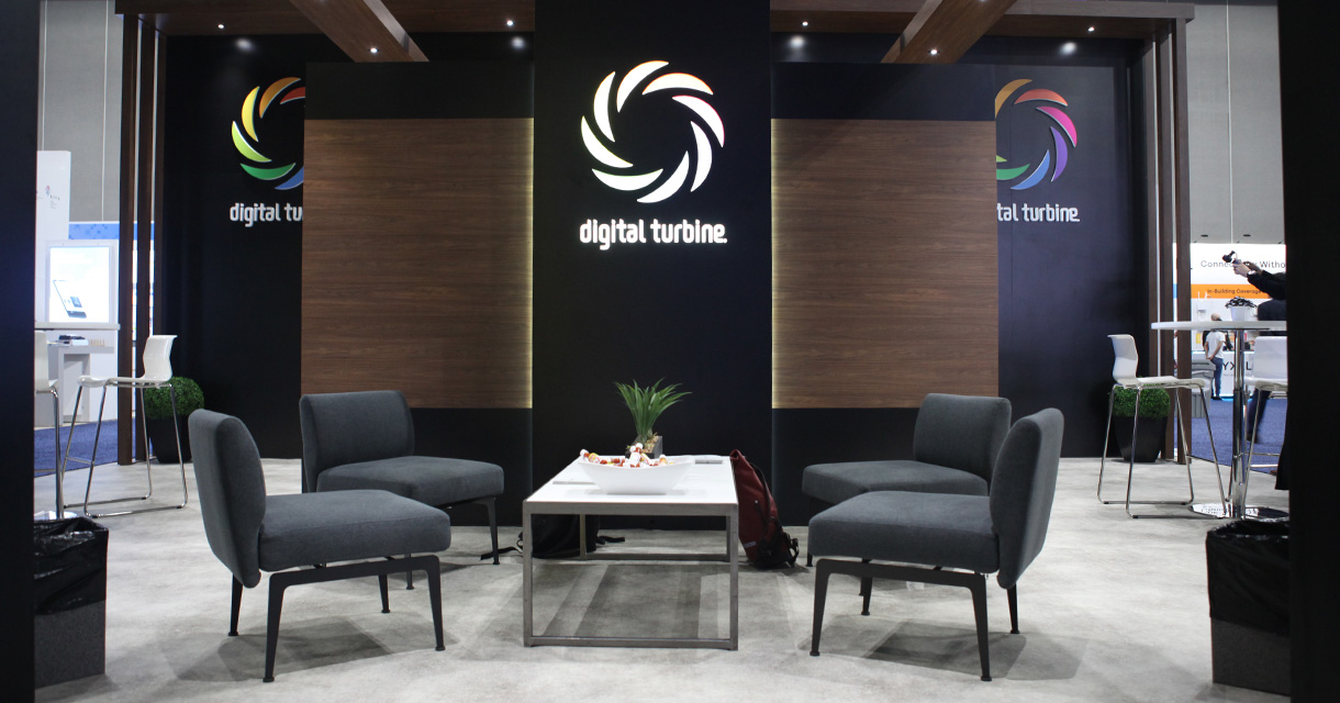 digital turbine trade show booth design