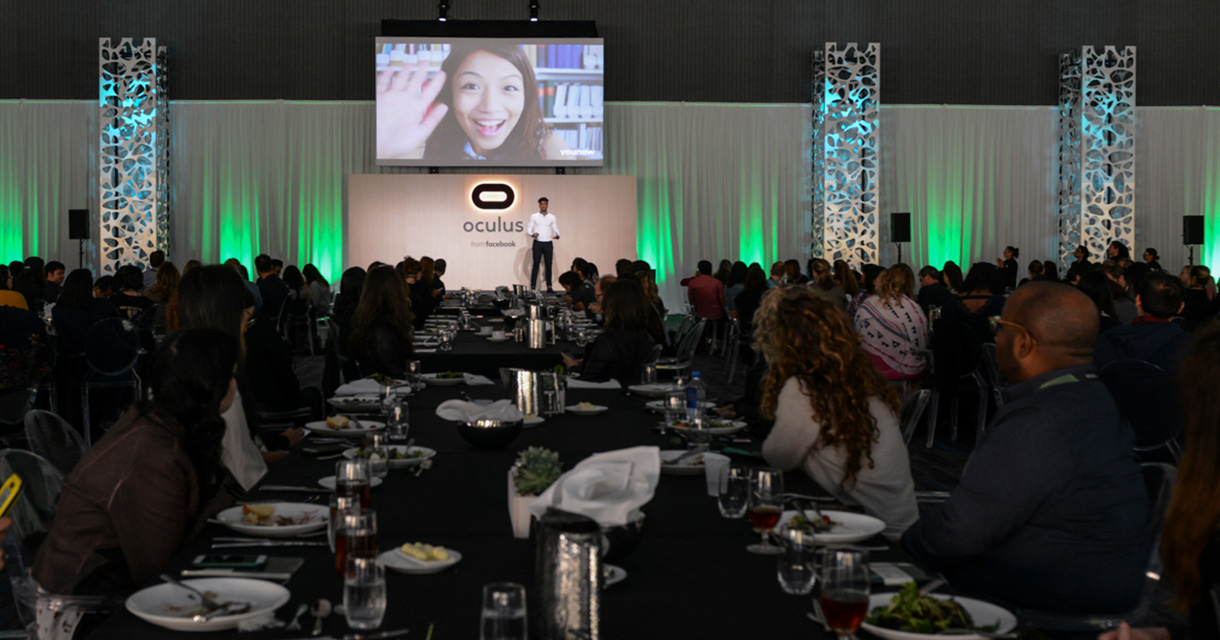 diversity luncheon at oculus connect