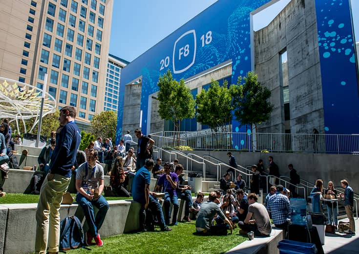 facebook developer conference entrance thumbnail