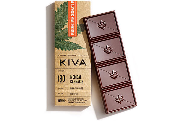kiva confections cannabis chocolate bar