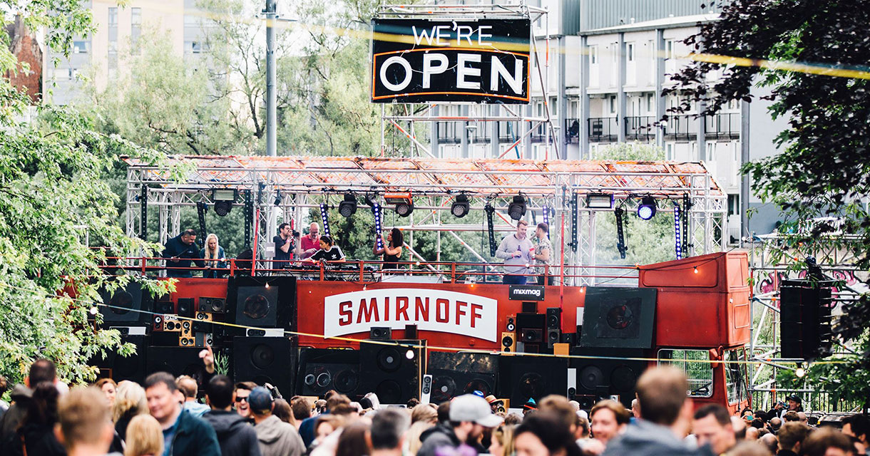 smirnoff vodka brand activation experiential marketing fgpg