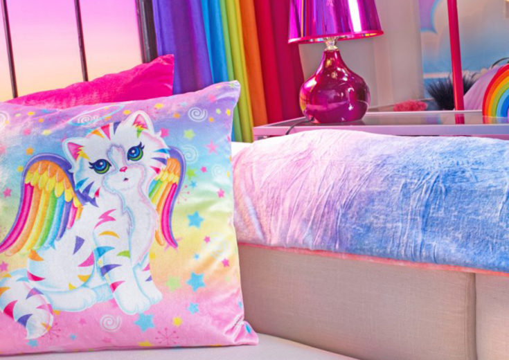 lisa frank pop up hotel experiential inspiration fgpg