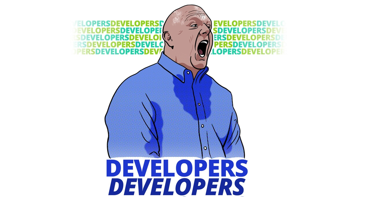 Developer Conference Ballmer Meme
